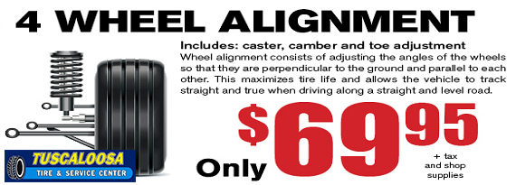 Front End Alignment Coupons >> Tuscaloosa Tire Service Center Tires Auto Repair Shop Alabama
